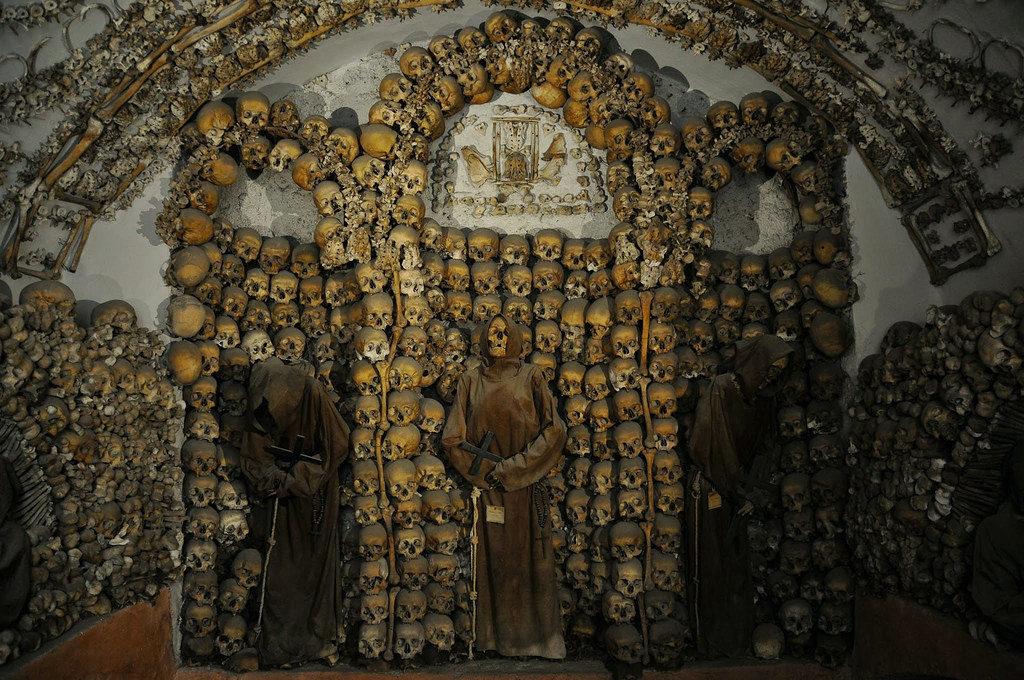 Cripta dei Cappuccini, quando la morte incontra l'arte