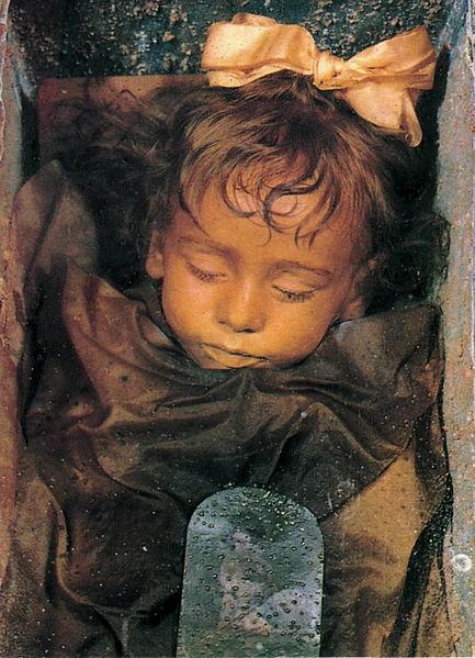 Palermo mummia Rosalia