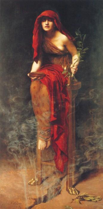 L'oracolo di Delfi – Apollo, la Pizia e il vapore profetico