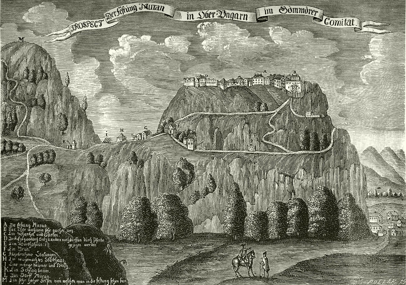 "Lady Mária Széchy, the ""Venus of Murány Castle"""