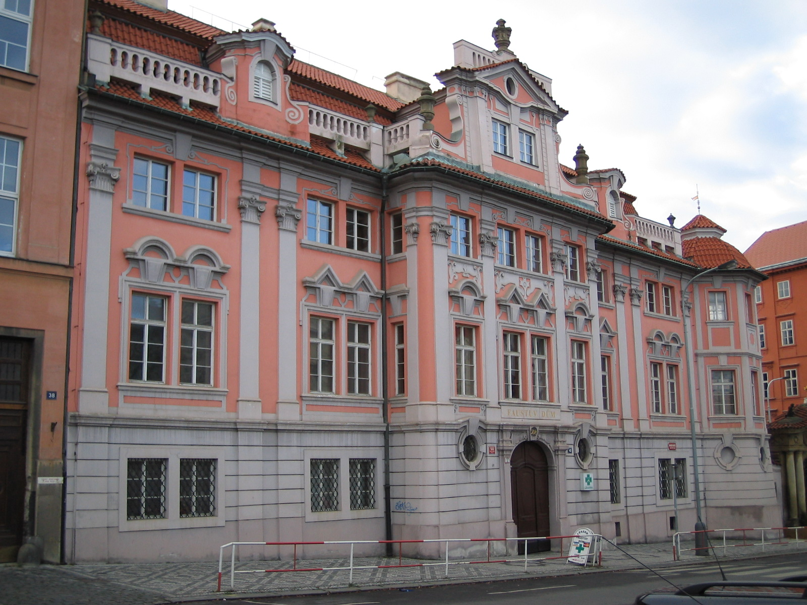 """Mysteries of Prague """"The Faust House"""""""