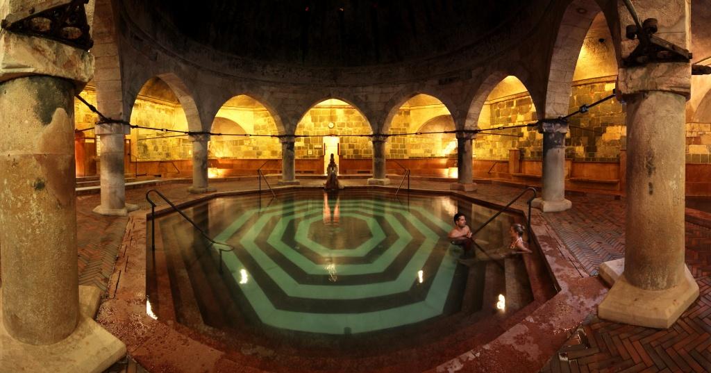 Rudas Baths in Budapest