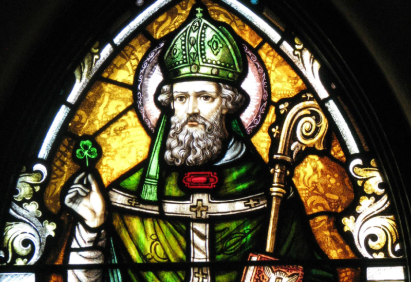 St. Patrick the Patron Saint of Ireland