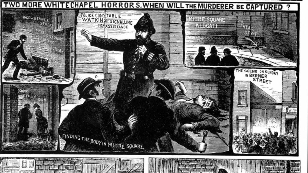 Jack lo squartatore, il serial-killer di Whitechapel