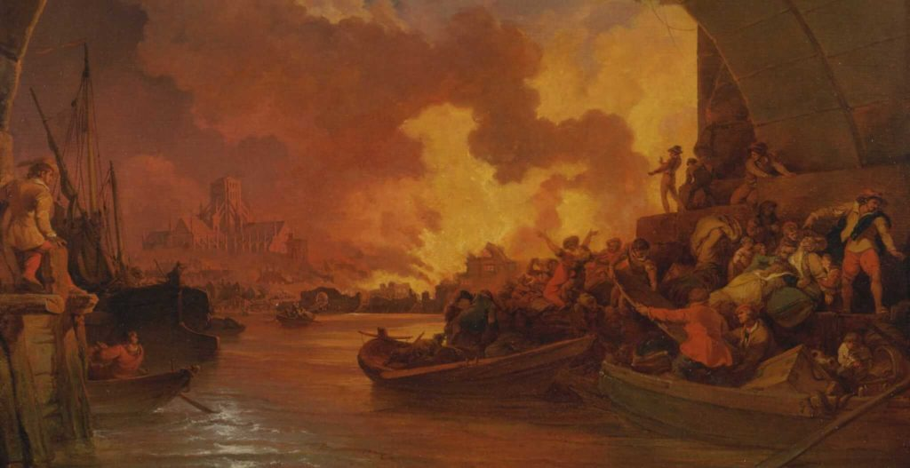 The Great fire of London and the Butterfly Effect