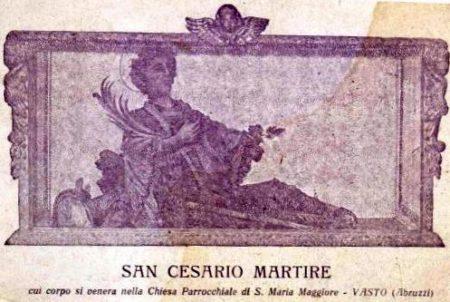 San Cesario del Vasto, la sentinella della fine dei tempi