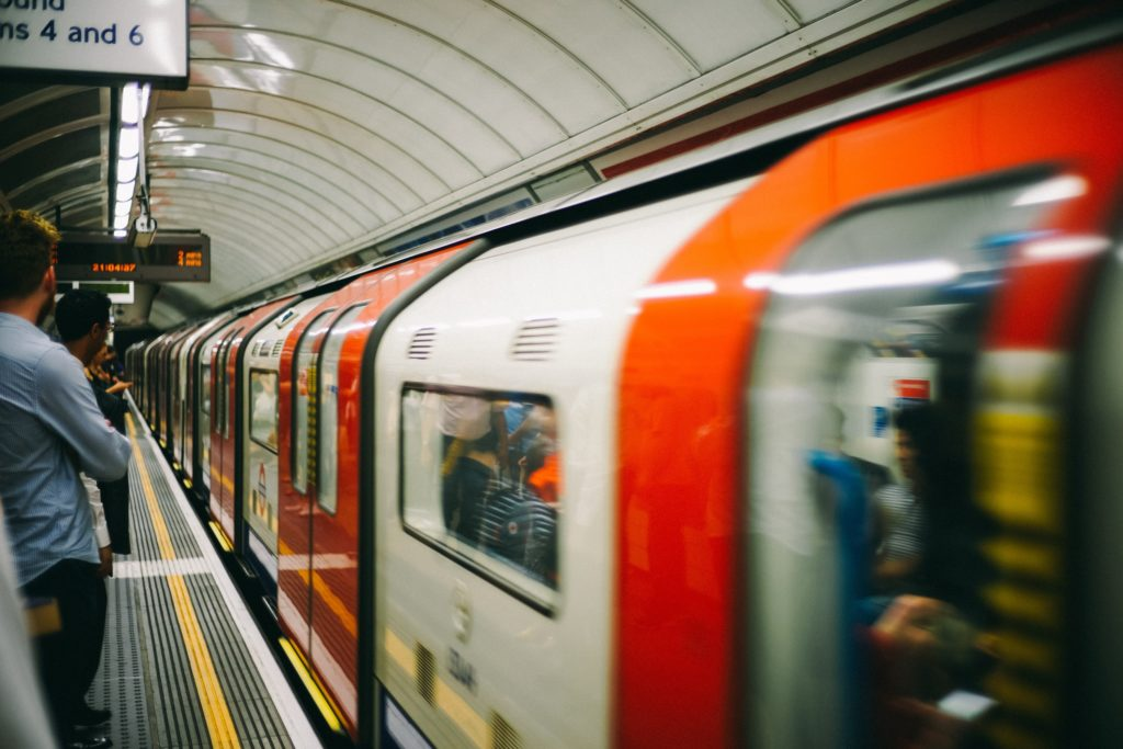 Ghosts of the London Underground