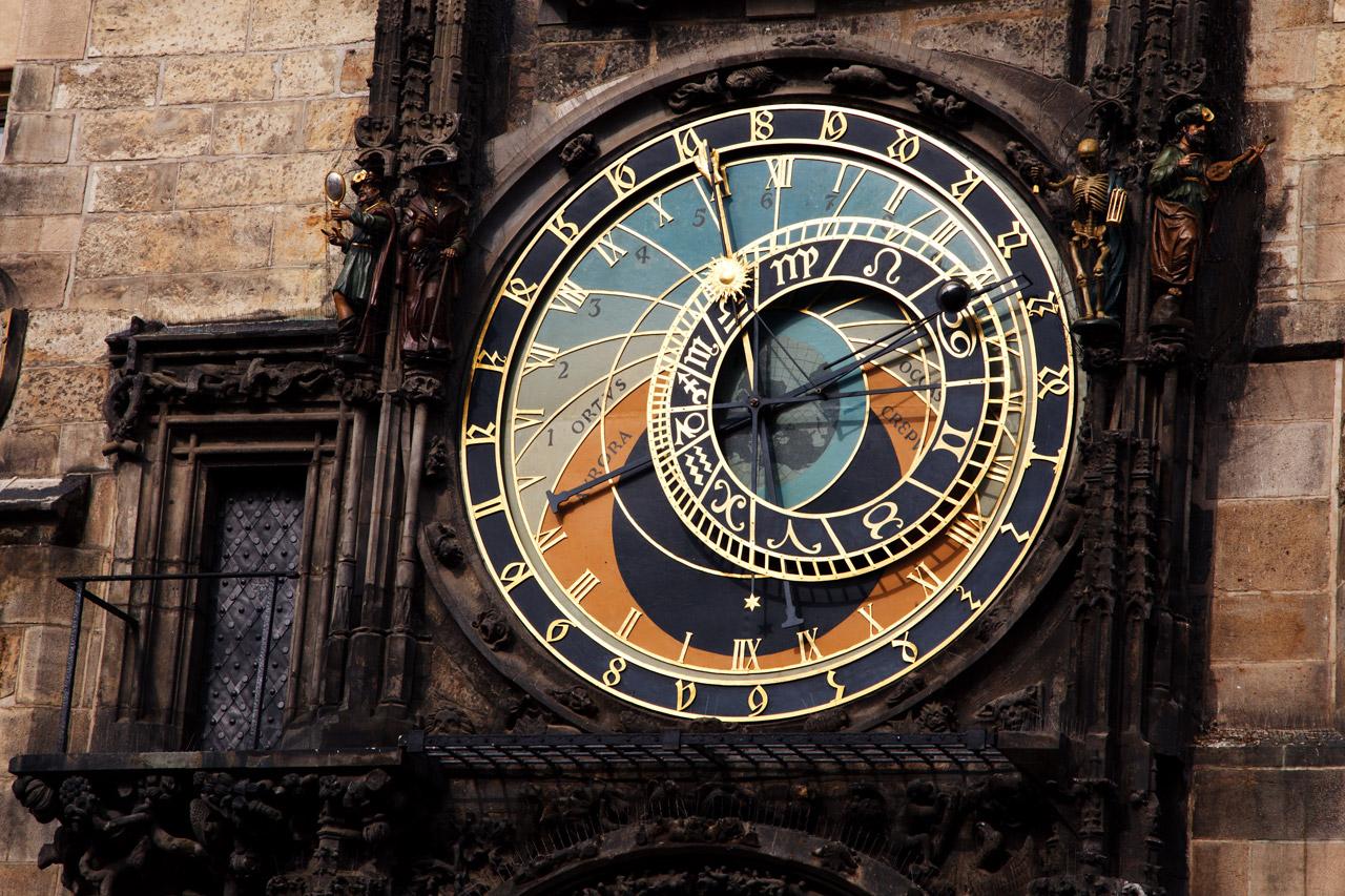 Orloj, the Astronomical Clock of Prague
